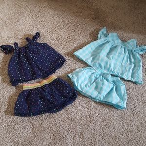 CAT & JACK Four Piece Girl's Outfit